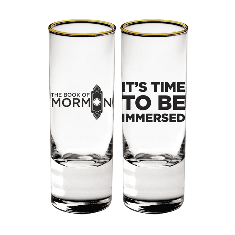 Buy Online Book Of Mormon - Immersed Shot Glass