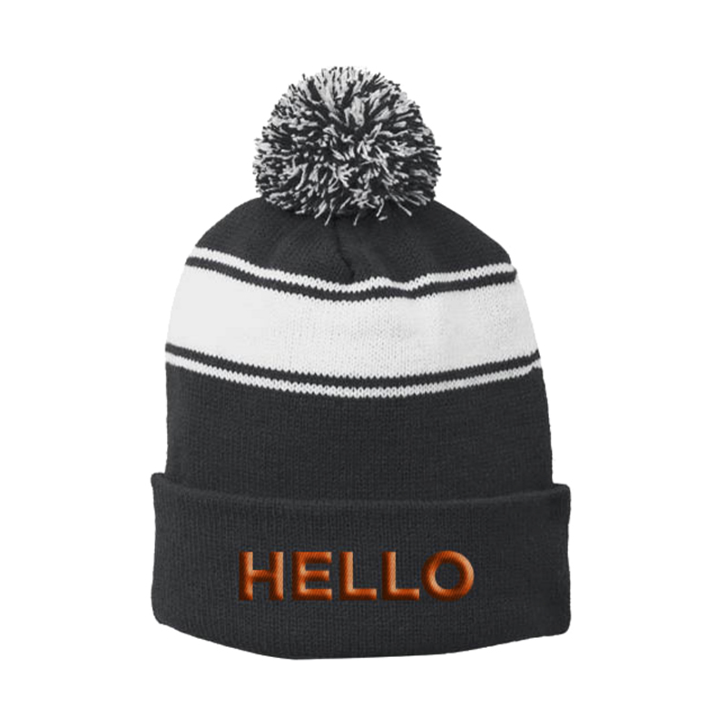 Buy Online Book Of Mormon - Hello Pom Beanie