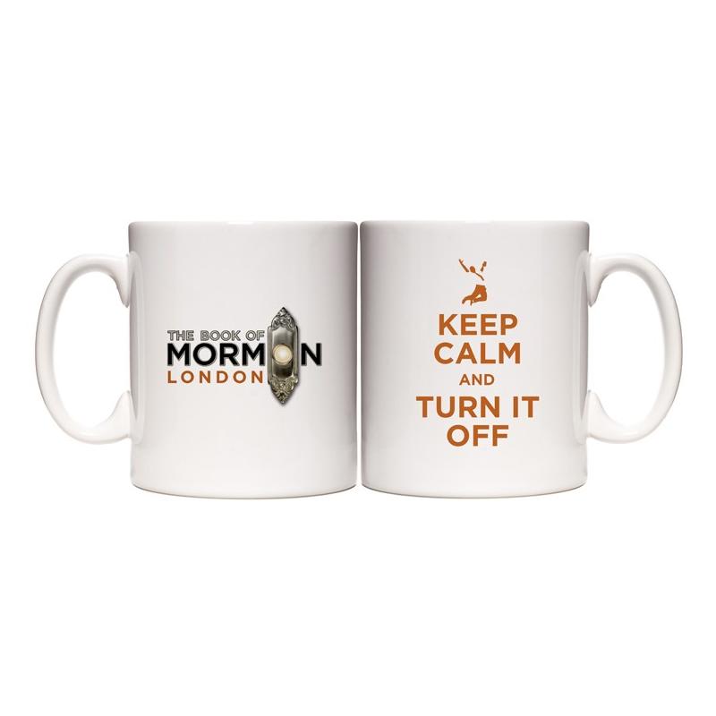 Buy Online Book Of Mormon - London Mug