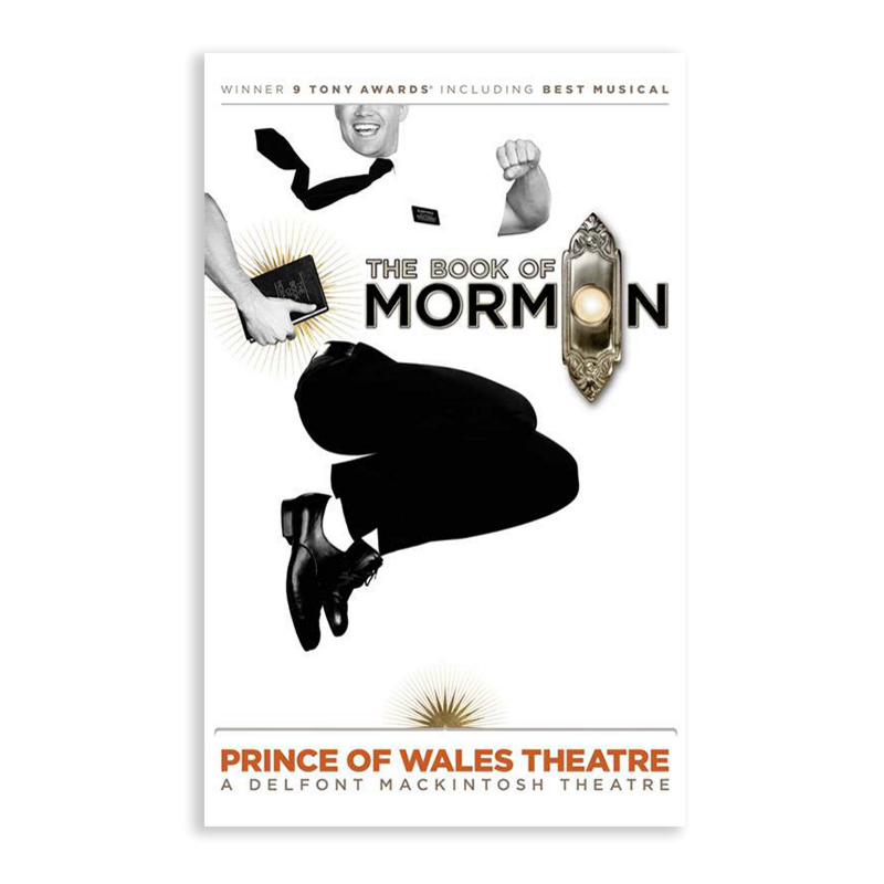 Buy Online Book Of Mormon - London Poster