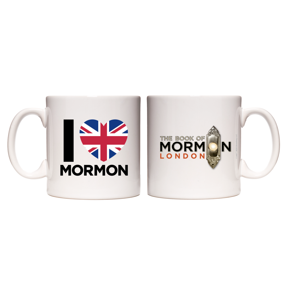 Buy Online Book Of Mormon - I Heart Mormon Mug