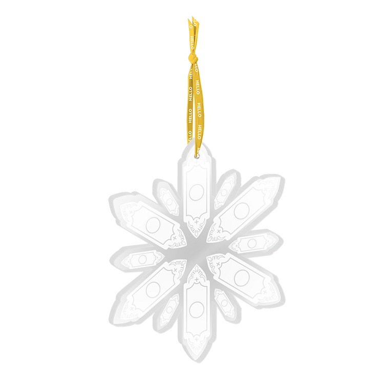 Buy Online Book Of Mormon - Snowflake Ornament