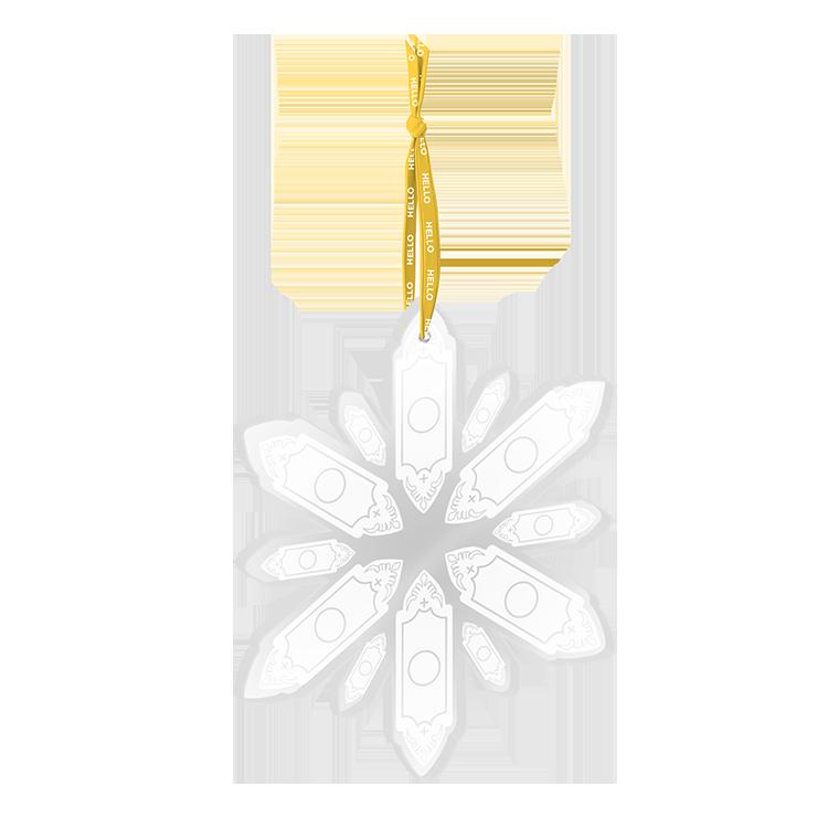 Buy Online Book Of Mormon - Snowflake Ornament