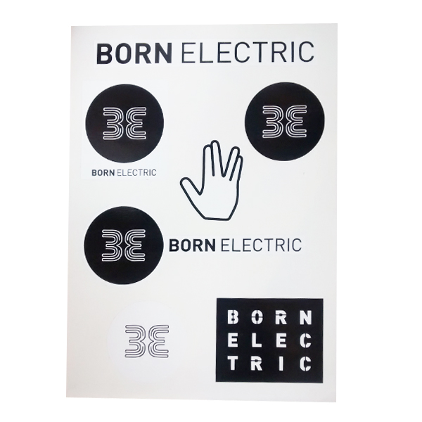 Buy Online Born Electric - Sticker Set