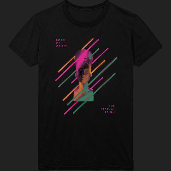 Buy Online Born of Osiris - The Eternal Reign Coloured Face T-Shirt