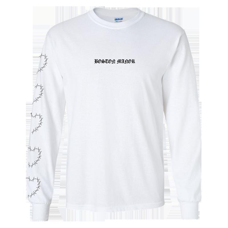 Buy Online Boston Manor - Heart Long Sleeve T-Shirt