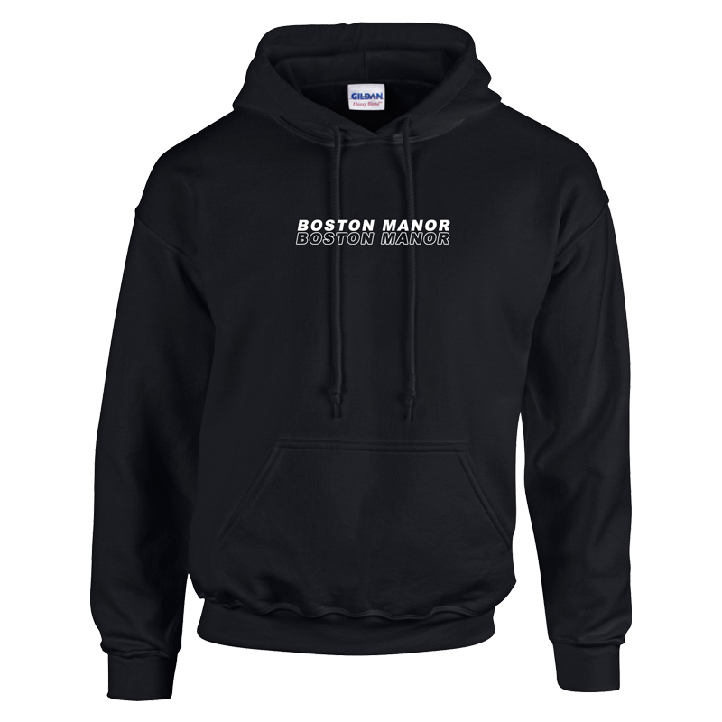 Buy Online Boston Manor - Embroidered Logo Hoody