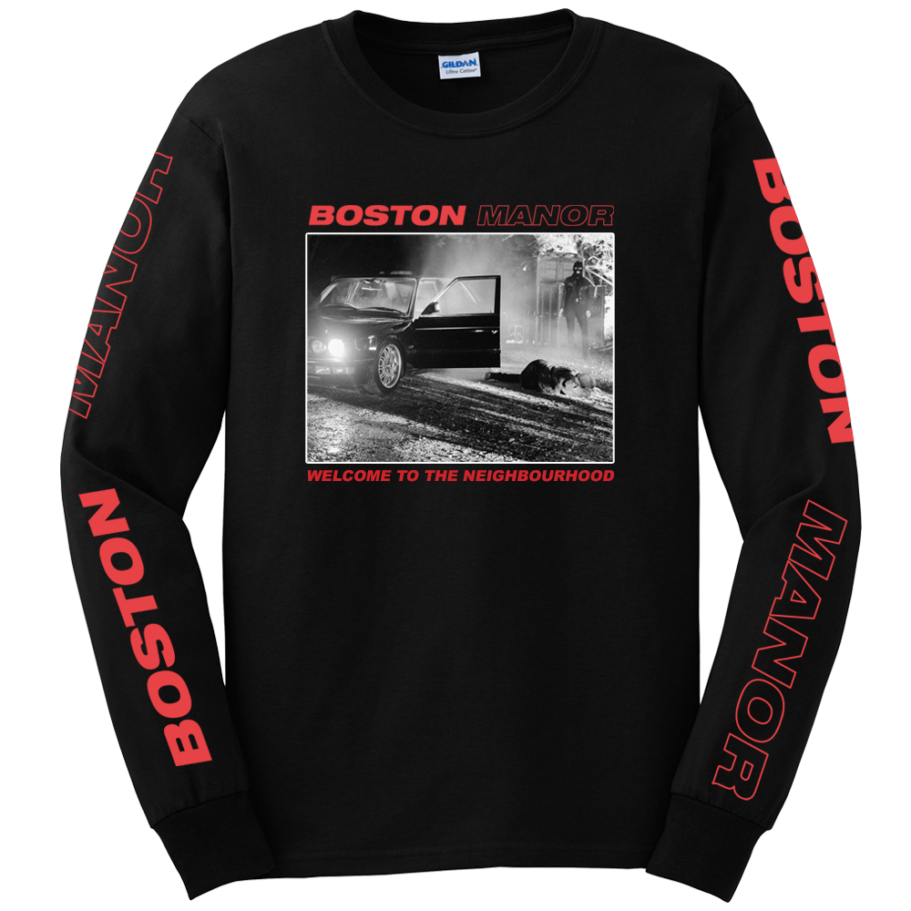 Buy Online Boston Manor - Welcome to The Neighbourhood Longsleeve
