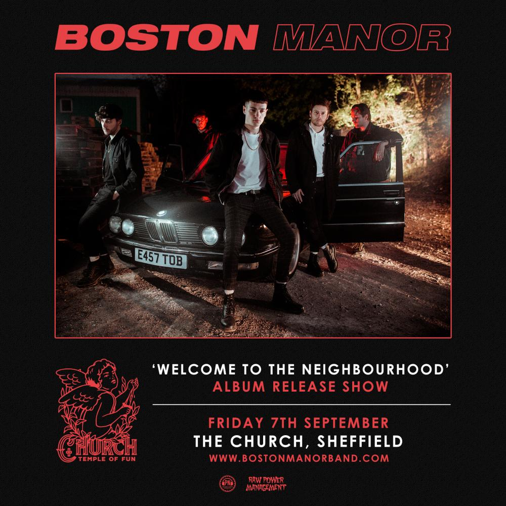 Buy Online Boston Manor - Welcome To The Neighbourhood - Album Release Show