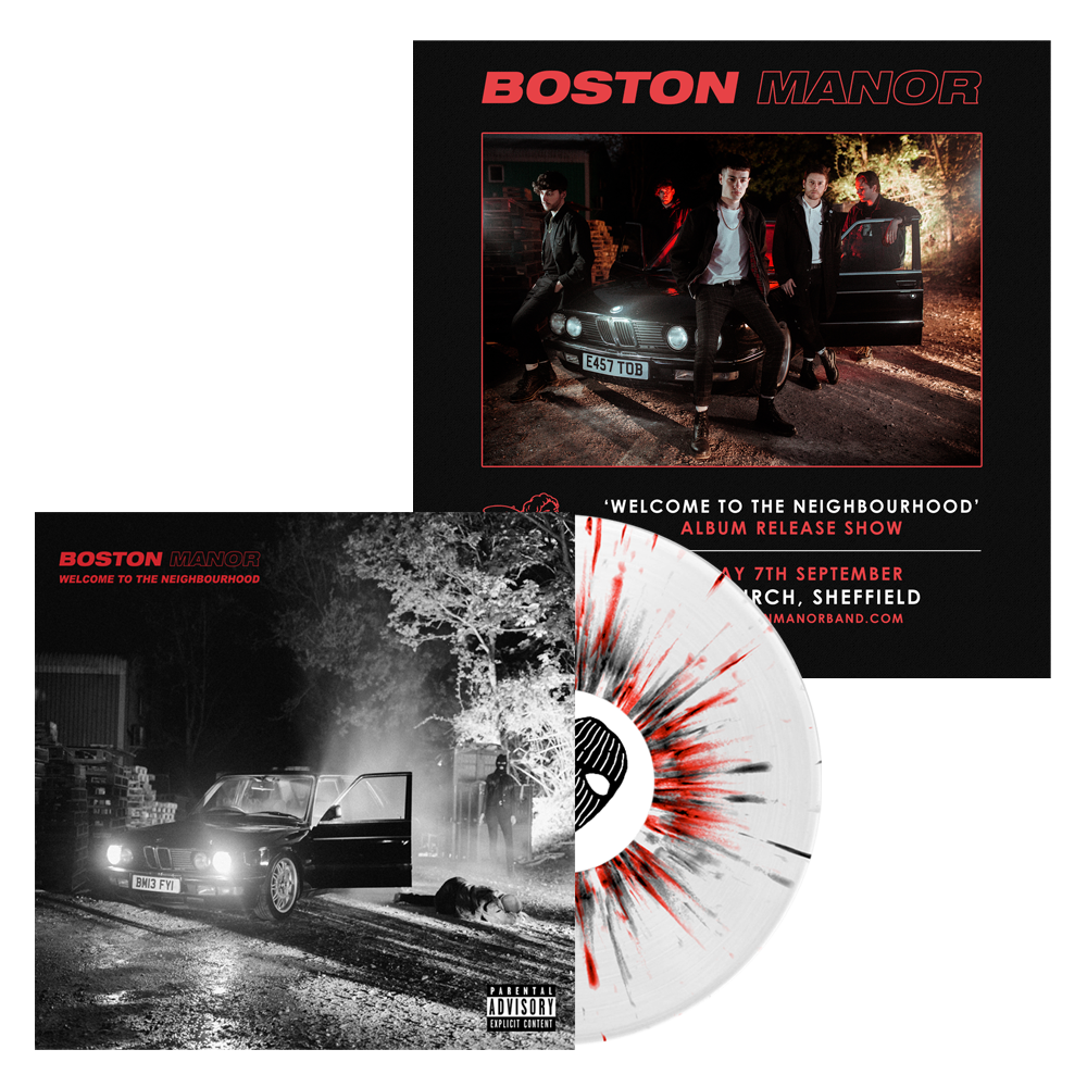 Buy Online Boston Manor - Welcome To The Neighbourhood - Vinyl LP + Album Release Gig Ticket