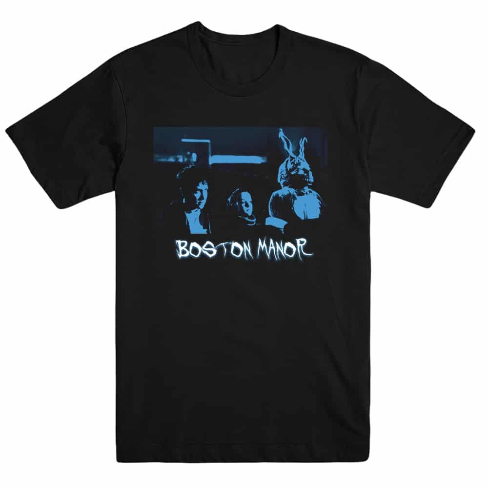 Buy Online Boston Manor - Halloween Donnie Darko T-Shirt