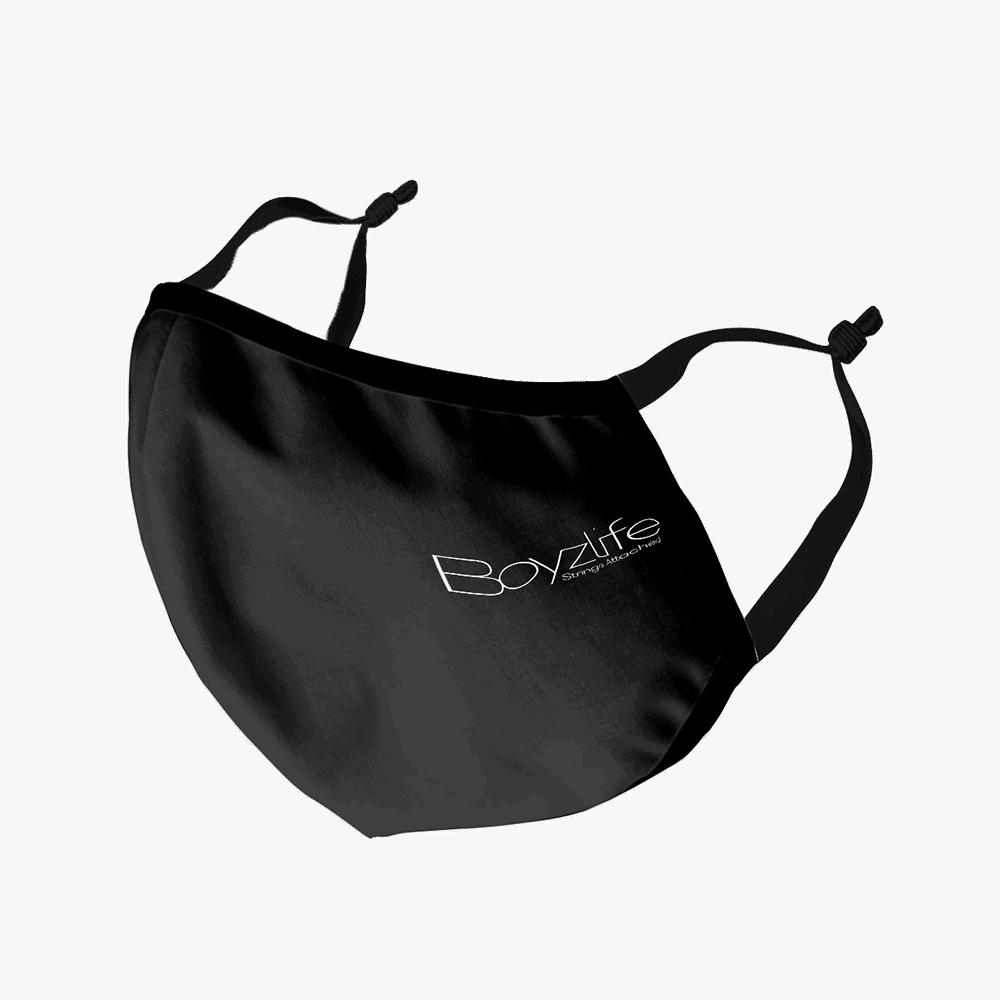 Buy Online Boyzlife - Face Mask - Black