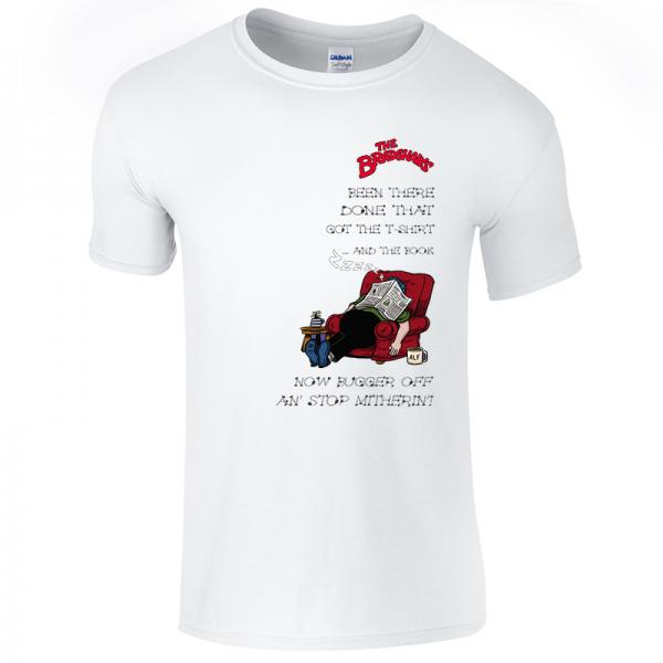 Buy Online The Bradshaws - Been There... White T-Shirt