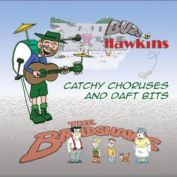 Buy Online Buzz Hawkins - Catchy Choruses And Daft Bits
