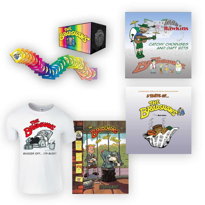 Buy Online The Bradshaws - Celebrating 35 years...bundle