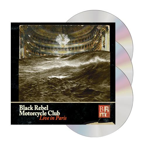 Buy Online Black Rebel Motorcycle Club - Live In Paris (2xCD & DVD)