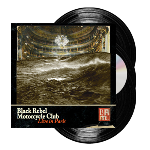 Buy Online Black Rebel Motorcycle Club - Live In Paris (3LP & DVD)