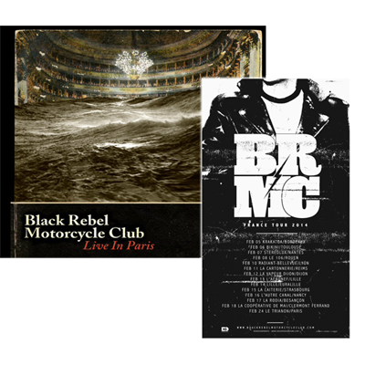 Buy Online Black Rebel Motorcycle Club - 3xLP & DVD plus Tour Poster