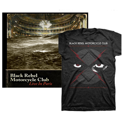 Buy Online Black Rebel Motorcycle Club - 3xLP & DVD plus T-Shirt