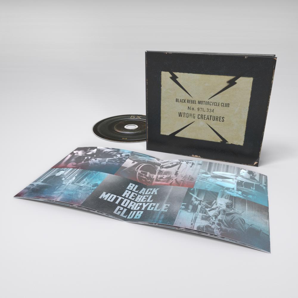 Buy Online Black Rebel Motorcycle Club - Wrong Creatures CD Album