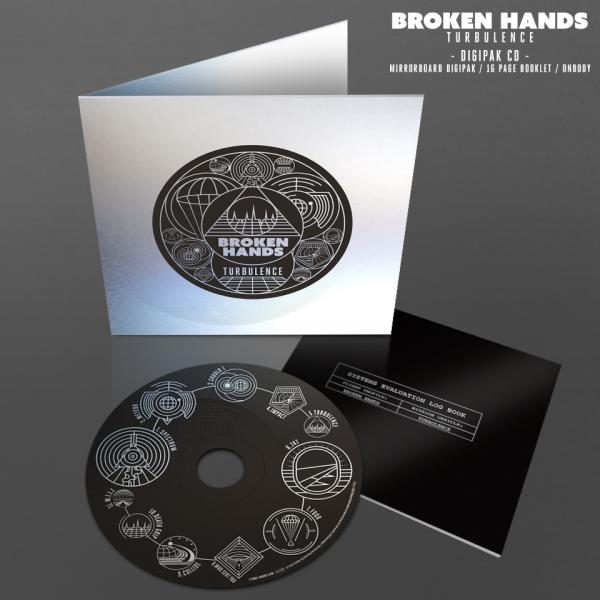 Buy Online Broken Hands - Turbulence CD Album + Bonus Disc (Signed)