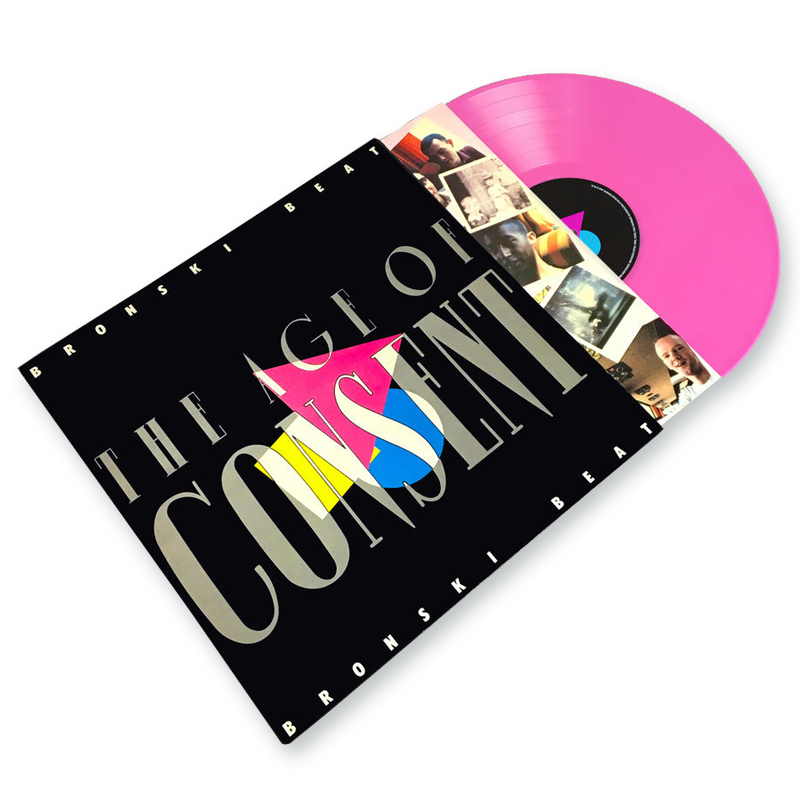 Buy Online Bronski Beat - 'The Age Of Consent' Limited Edition Pink Vinyl
