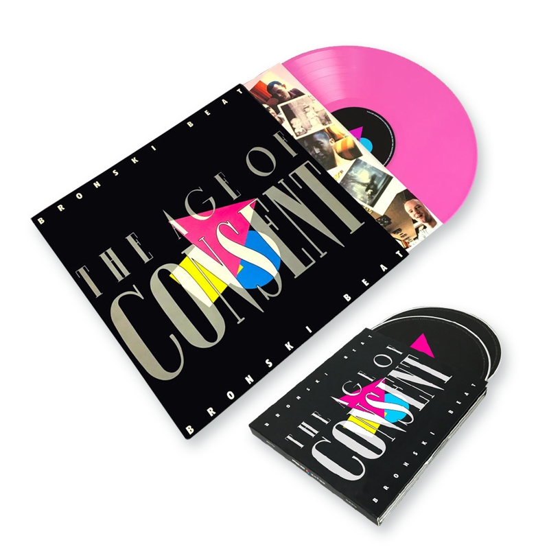 Buy Online Bronski Beat - 'The Age Of Consent' Deluxe Remastered & Expanded 2CD Album + Pink Vinyl