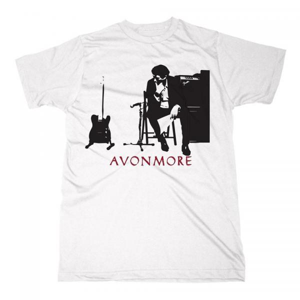 Buy Online Bryan Ferry - Avonmore Silhouette White T-Shirt
