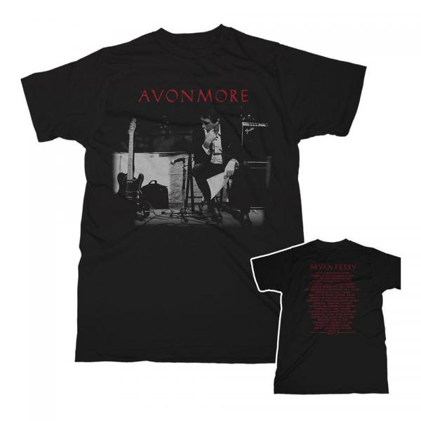 Buy Online Bryan Ferry - Avonmore Tour Studio 2015 T-Shirt