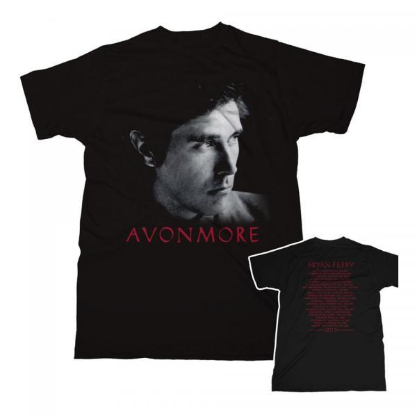 Buy Online Bryan Ferry - Avonmore Tour Album 2015 T-Shirt