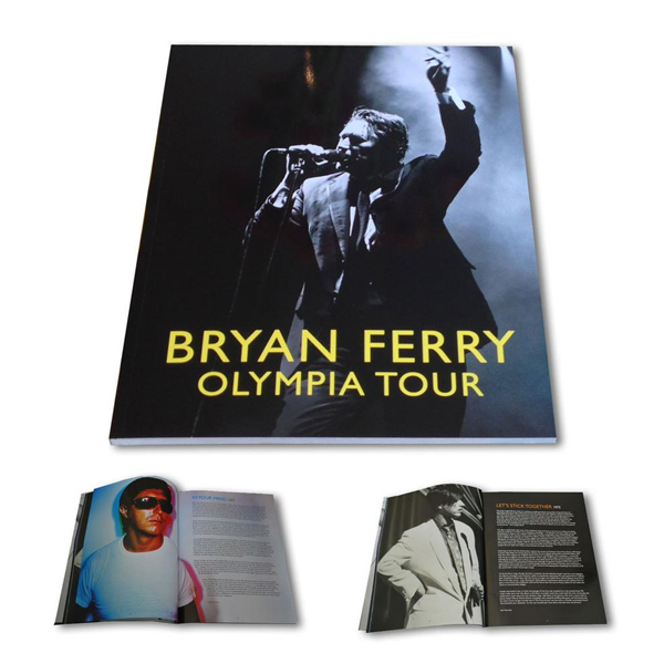 Buy Online Bryan Ferry - Olympia Tour Programme