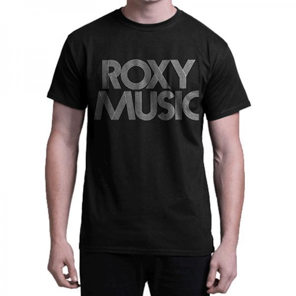 Buy Online Roxy Music - Roxy Music - Text T-Shirt