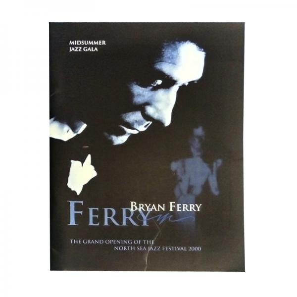 Buy Online Bryan Ferry - Midsummer Jazz Gala Programme