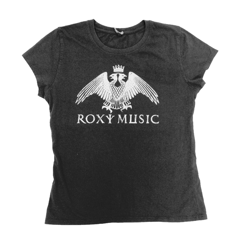 Buy Online Roxy Music - Eagle Crest Ladies Grey T-Shirt