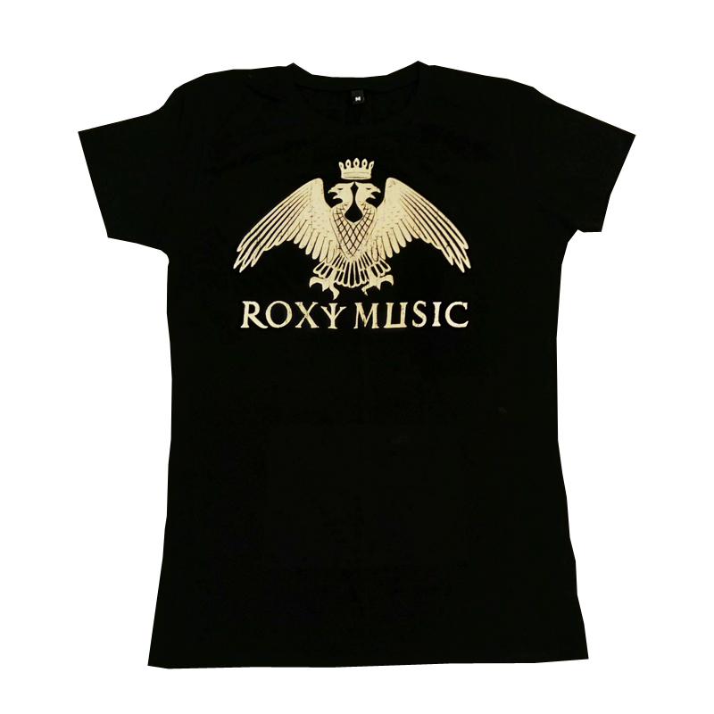 Buy Online Roxy Music - Eagle Crest Ladies Black T-Shirt