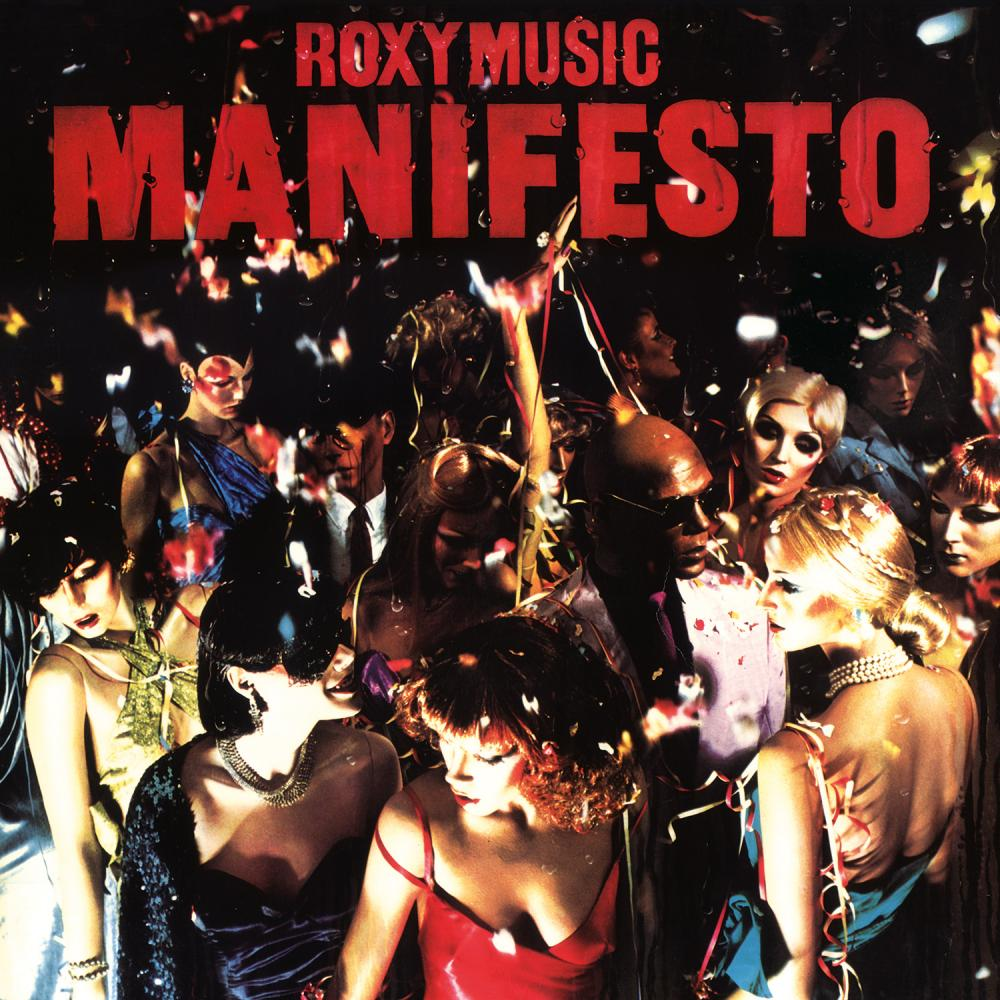 Buy Online Roxy Music - Manifesto Heavyweight Vinyl LP