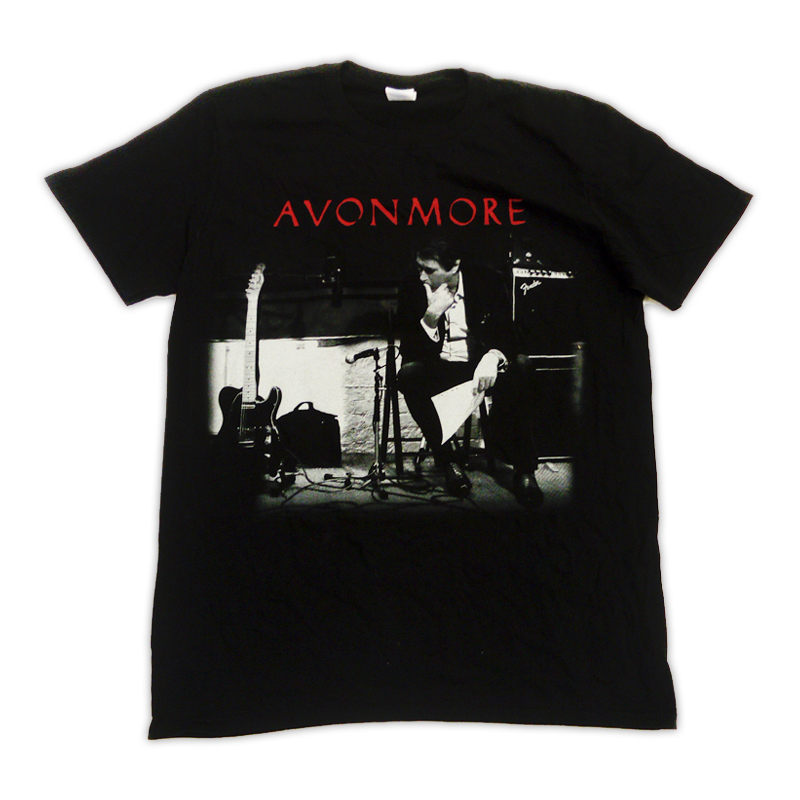 Buy Online Bryan Ferry - Avonmore 2014 European Tour Studio T-Shirt (w/ Dates)