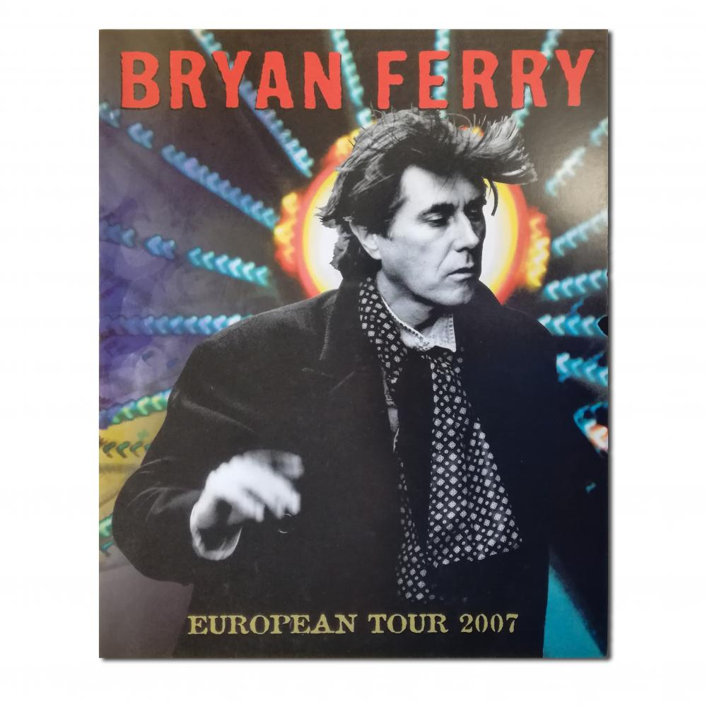 Buy Online Bryan Ferry - European Tour Programme 2007