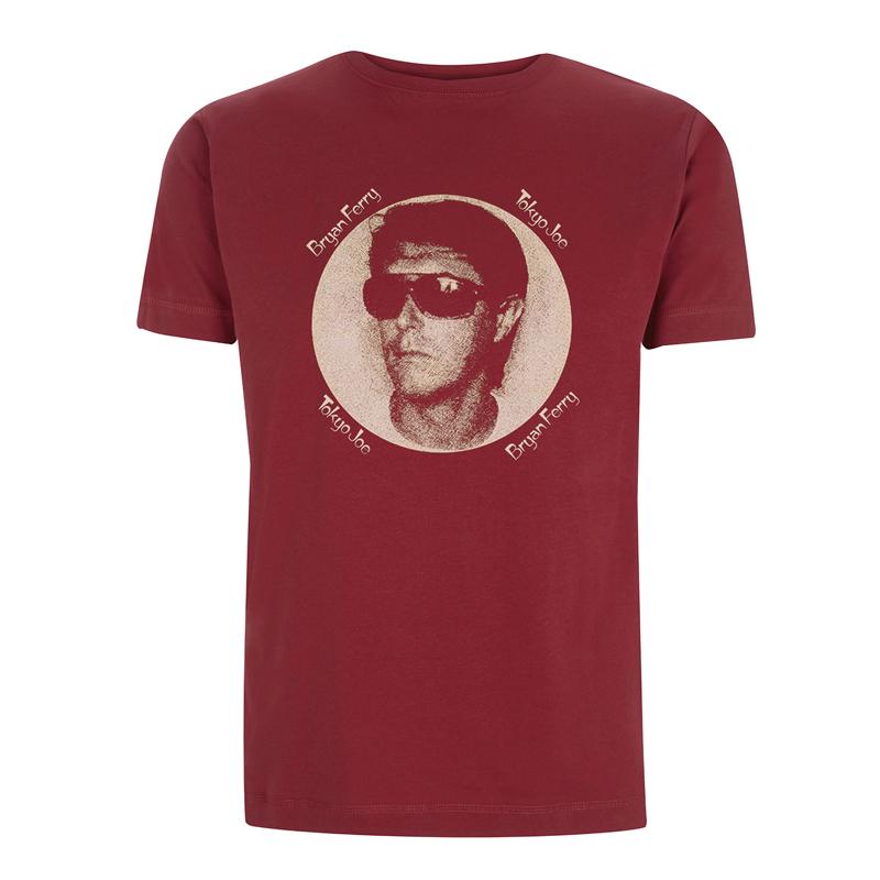Buy Online Bryan Ferry - Tokyo Joe Burgundy T-Shirt