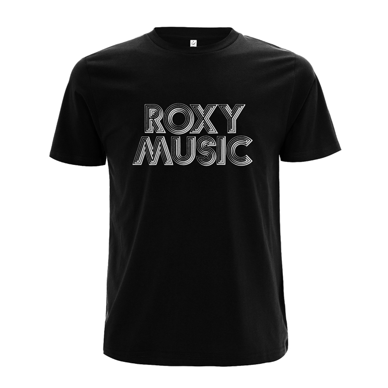 Buy Online Roxy Music - Roxy Music Retro T-Shirt