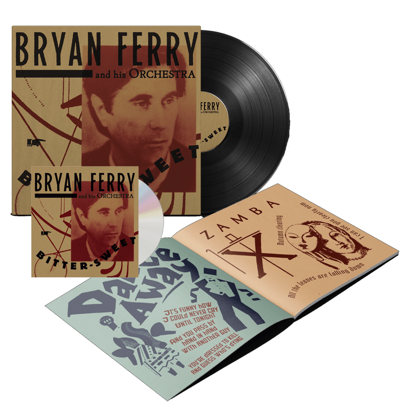Buy Online Bryan Ferry - Bitter-Sweet Deluxe CD + Vinyl
