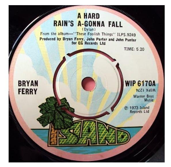 Buy Online Bryan Ferry - A Hard Rain's A-Gonna Fall