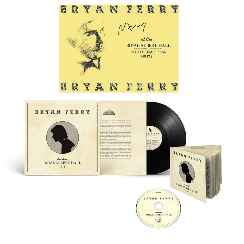 Buy Online Bryan Ferry - Live At The Royal Albert Hall 1974 Bundle