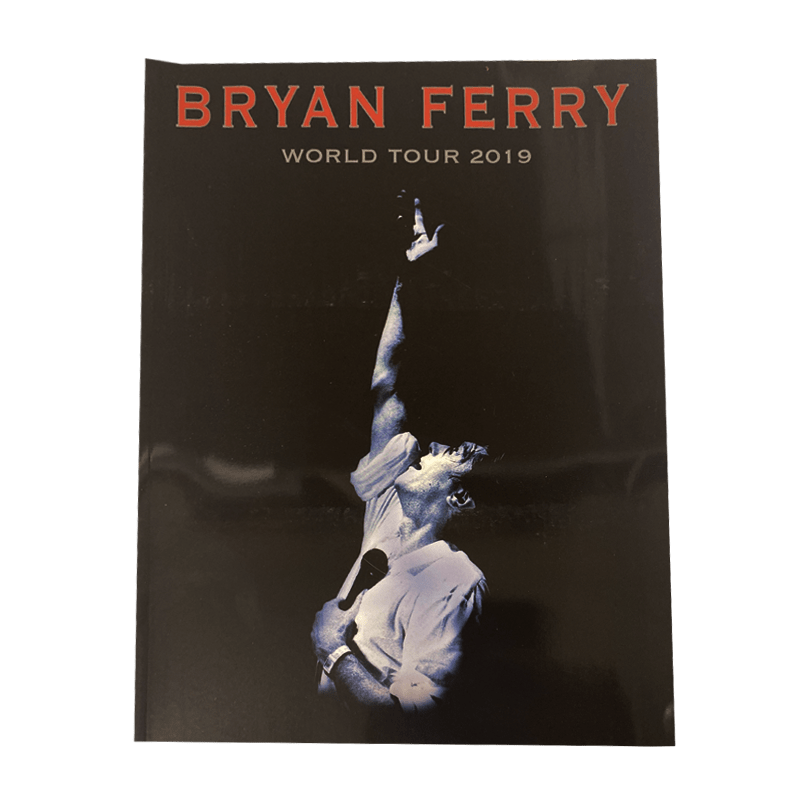 Buy Online Bryan Ferry - World Tour 2019 Tour Programme