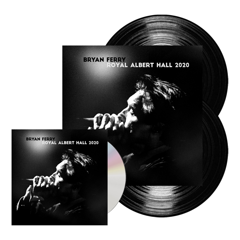 Buy Online Bryan Ferry - Royal Albert Hall 2020 CD Album (Exclusive) + Double Vinyl (Exclusive)