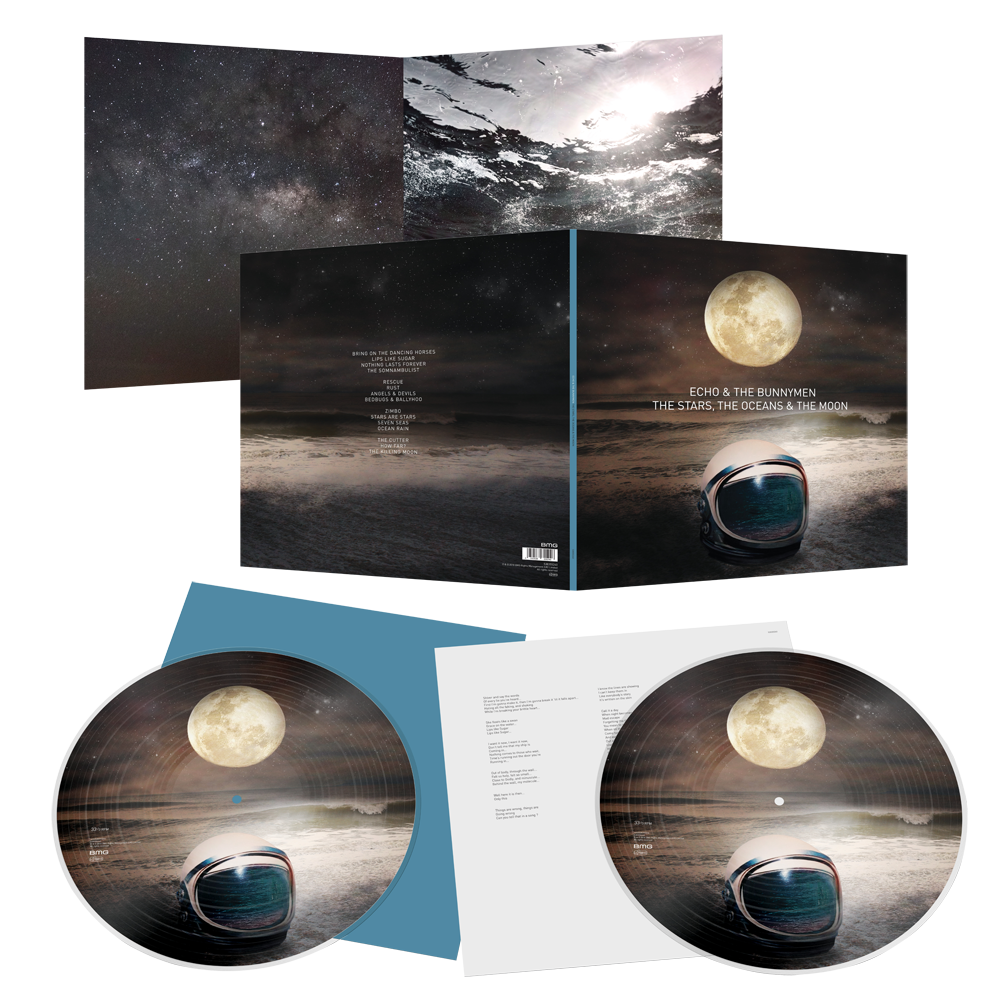 Buy Online Echo & The Bunnymen - The Stars, The Oceans & The Moon Double Heavyweight Gatefold Picture Disc Vinyl (Ltd Edition, Signed, Exclusive)