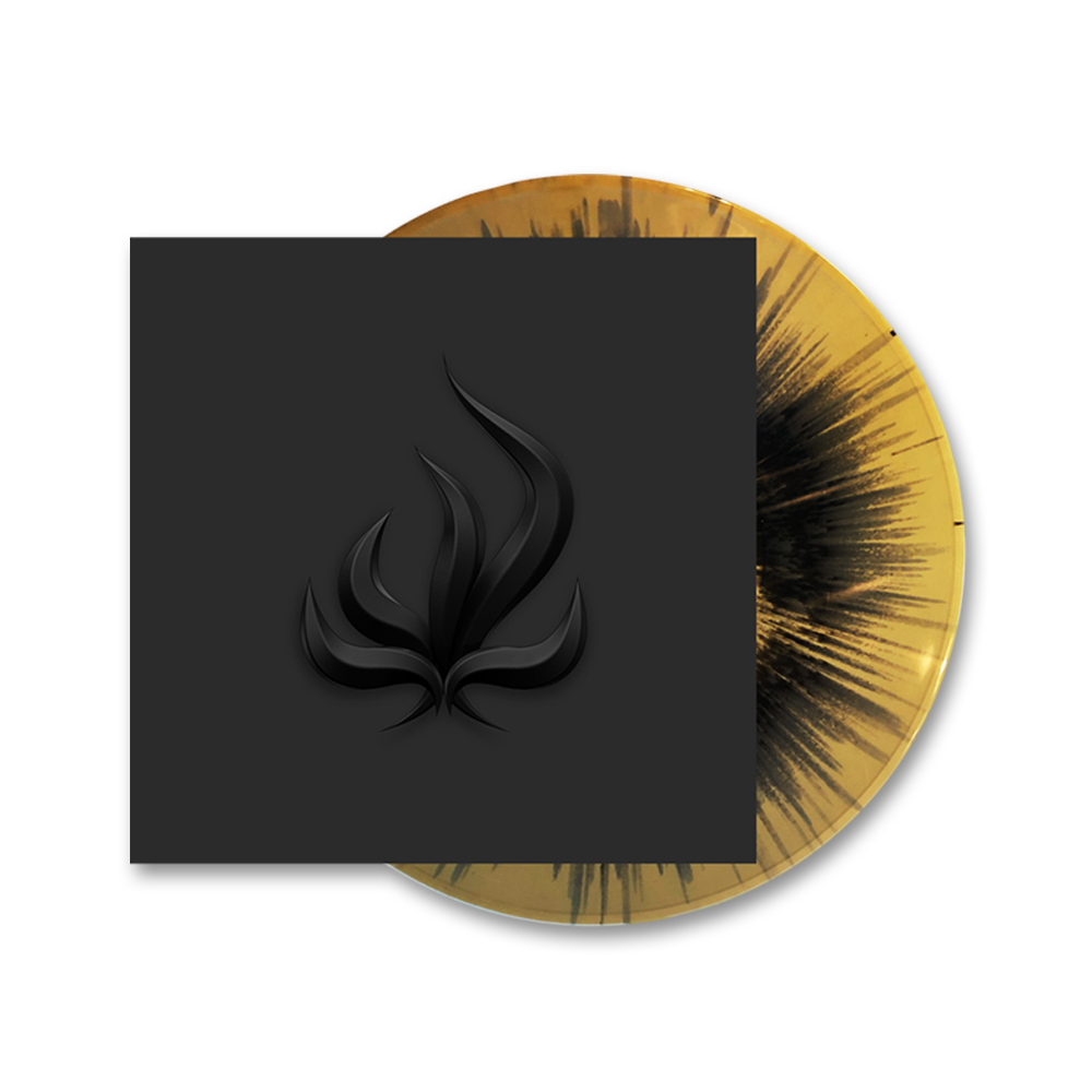 Buy Online Bury Tomorrow - Black Flame Gold/Black Splatter Vinyl + Free Sticker