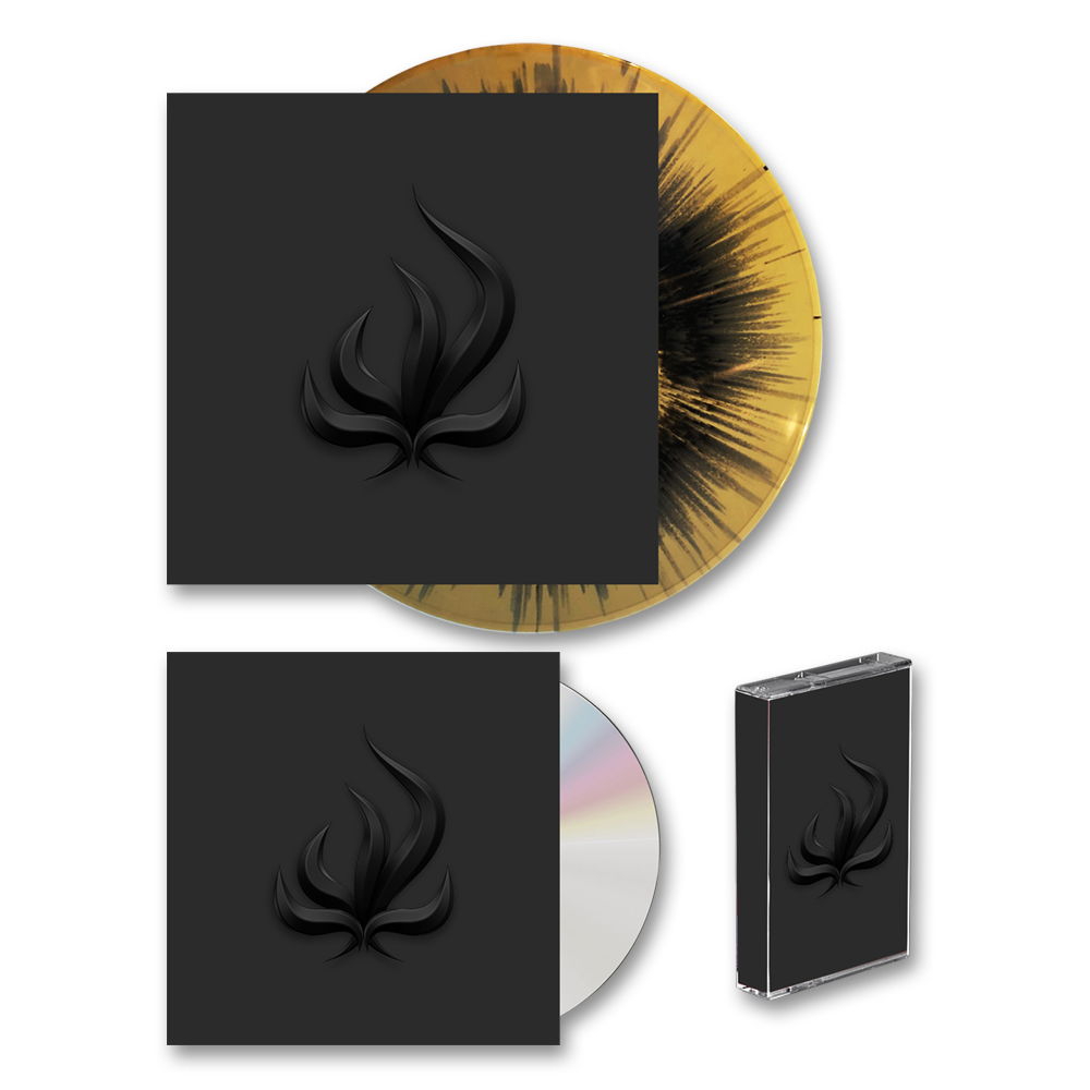 Buy Online Bury Tomorrow - Black Flame CD + Gold/Black Splatter Vinyl + Cassette