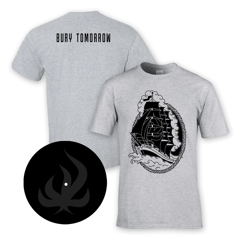 Buy Online Bury Tomorrow - My Revenge Etched 7-Inch Vinyl + T-Shirt