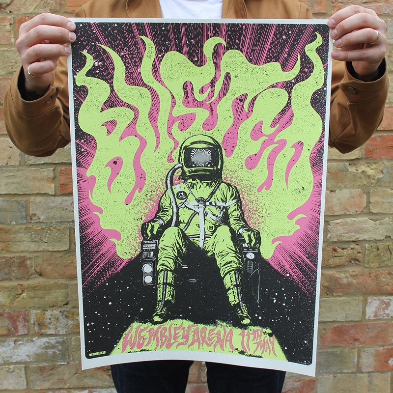Limited Edition, Signed & Numbered Poster
